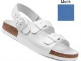 Ortopedická obuv, sandále, 040462 modrá