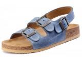 Školská, ortopedická, sandálová obuv, 003462 modrá