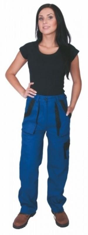 Dámske nohavice ELENA do pásu modré
