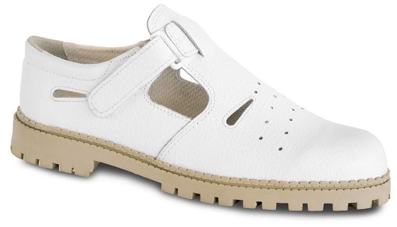 Biele poltopánky 7-980006