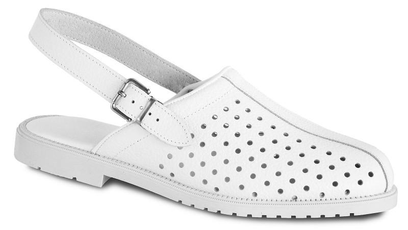 Biele sandále 7-980020C