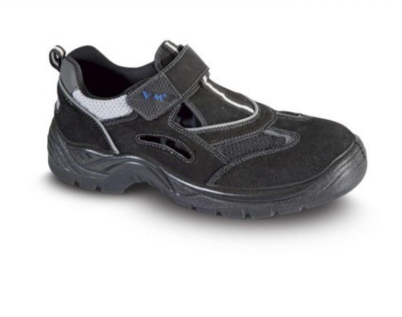 Bezpečnostné sandále AMSTERDAM s ocelovou špicou