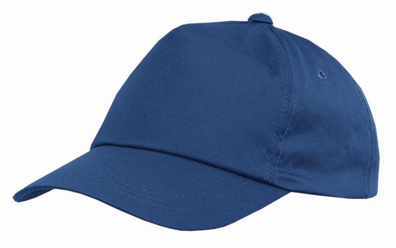 Baseballová čiapka so šiltom PHIL, Svetlo-modrá