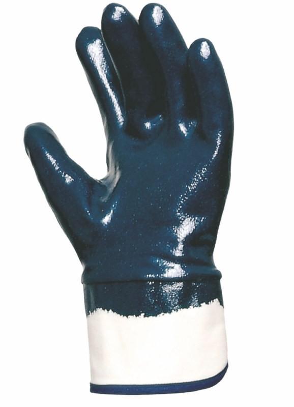 Bavlnené rukavice TITAN s úpletovou manžetou