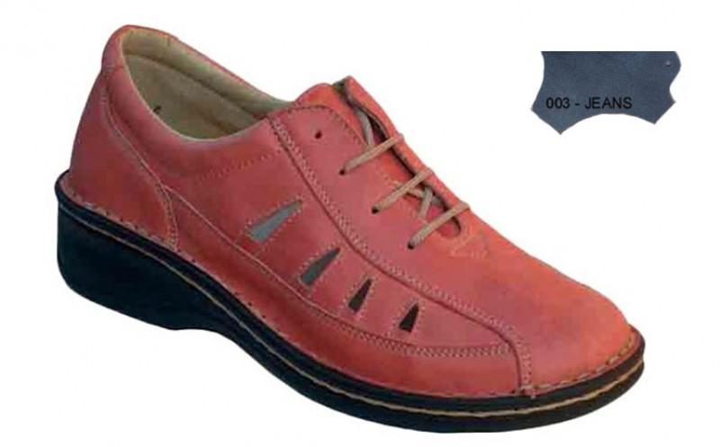 Dámske ortopedické topánky 07-791, jeans - 003