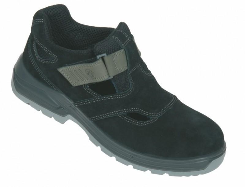 Celokožené sandále SANDORO s oceľovou špicou