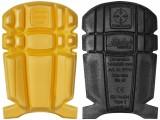 Kolenné chrániče remeselnícke EN 14404 9110, žltá - čierna