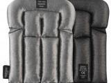 Kolenné chrániče pre podlahárov EN 14404 9118, čierna - svetlo šedá