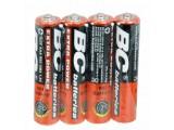 Baterie mikrotužkové AAA 1,5V a 4ks