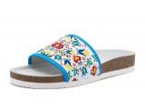 Dámska obuv ortopedická s folklórnym vzorom 105