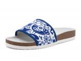 Dámska obuv ortopedická s folklórnym vzorom 106