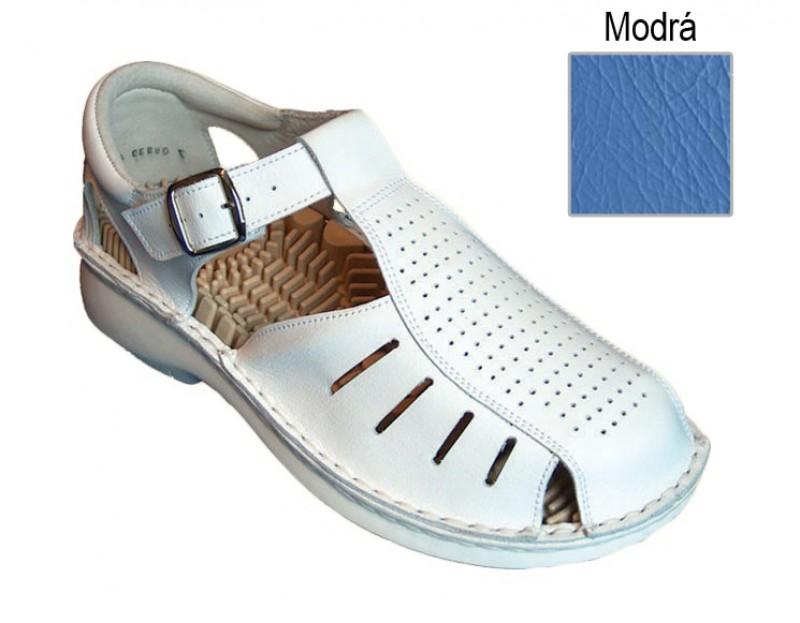 cae12ffaa318 Ortopedická obuv korková biela