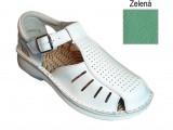 Ortopedická obuv, 030053 zelená