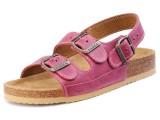 Školská, ortopedická, sandálová obuv, 046462 fialová