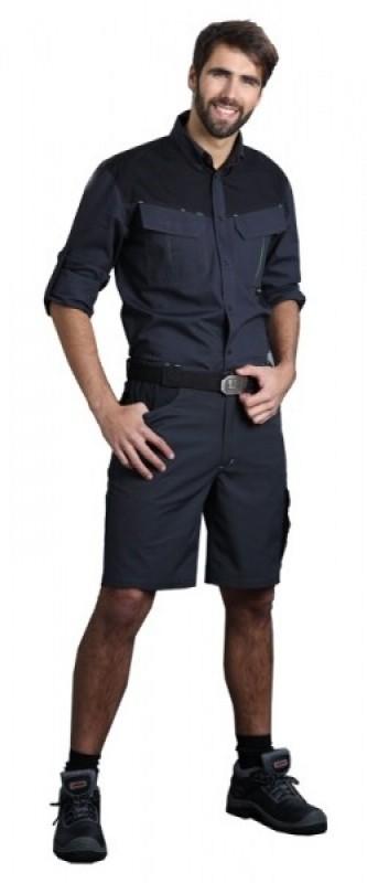 Krátke nohavice ELIAS pánske do pevného pásu