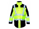 Výstražný odev Jacket LONDON 5v1 reflexná žltá