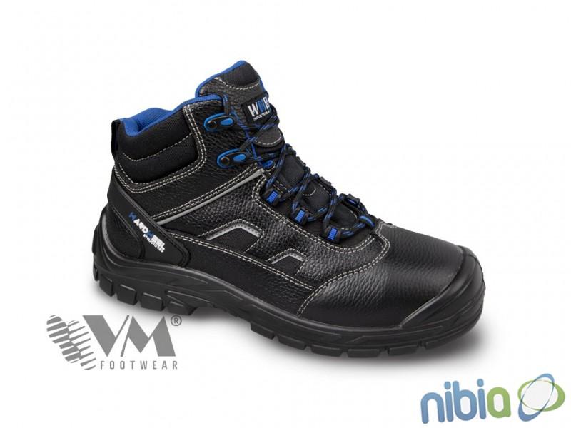 Členková obuv BRUSEL 2880-S1, s oceľovou špicou