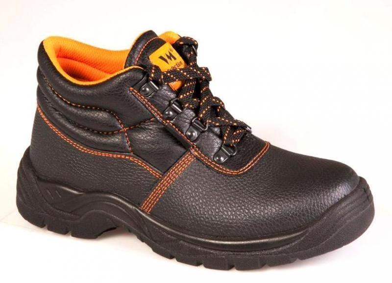 lenková obuv TALLIN S3, s oceľovou špicou a stielkou