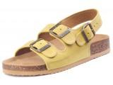 kolská, ortopedická, sandálová obuv, 010462 žltá