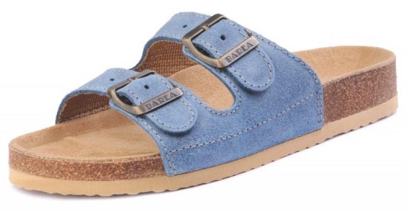 Školská, ortopedická, sandálová obuv, 003053 modrá