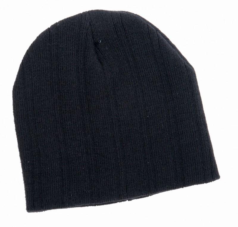 Zimná čapica IVAN, Čierna