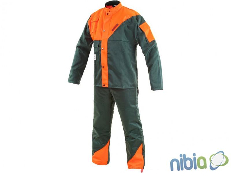 Protirezná súprava LESNÍK ochranný oblek