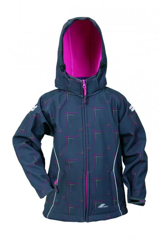 Softshell bunda 1484-BBVV, ružová
