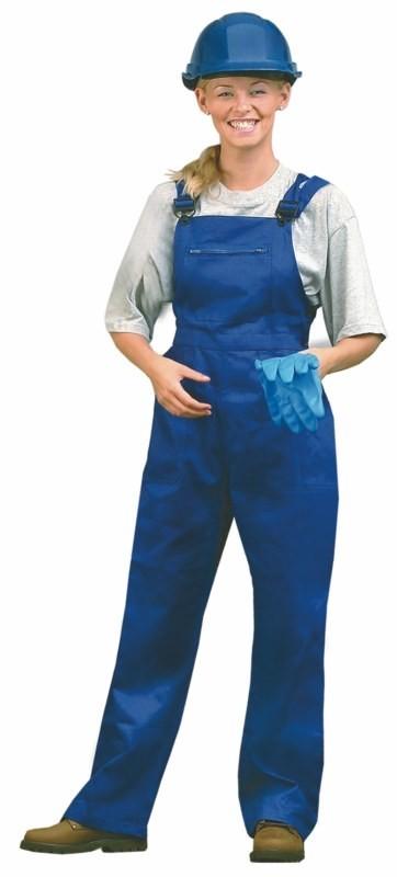 Pracovné nohavice YVONA dámske s náprsenkou