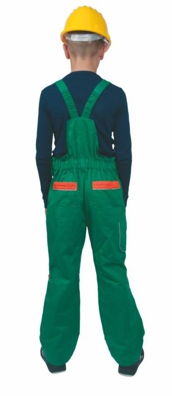 Detská pracovná súprava PINOCCHIO zeleno-oranžová