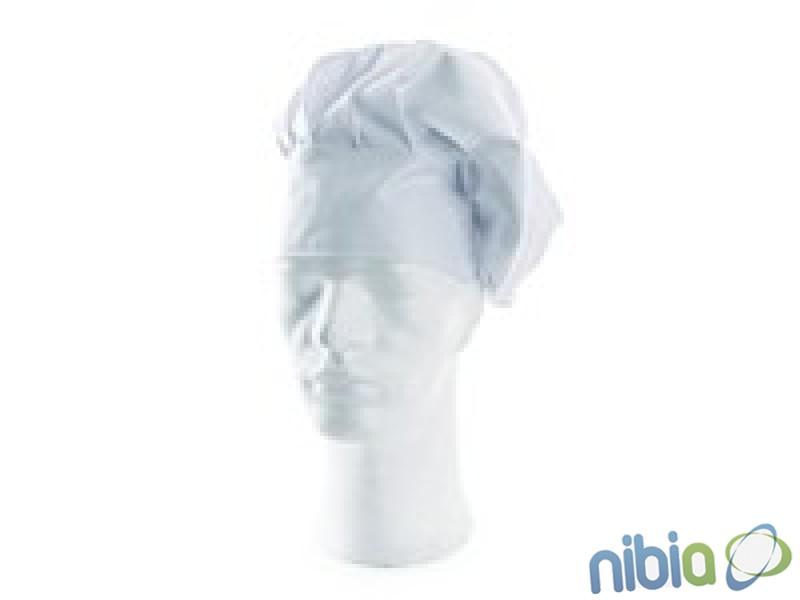 kuchársky baret biely LUDVA uni