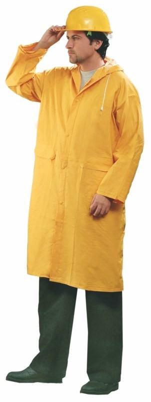 Pogumovaný plášť DEREK pracovný žltý