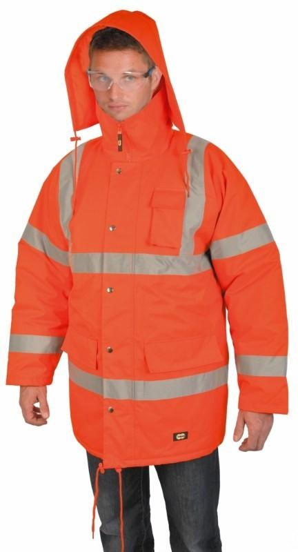 Zimná bunda CAMBRIDGE reflexná oranžová