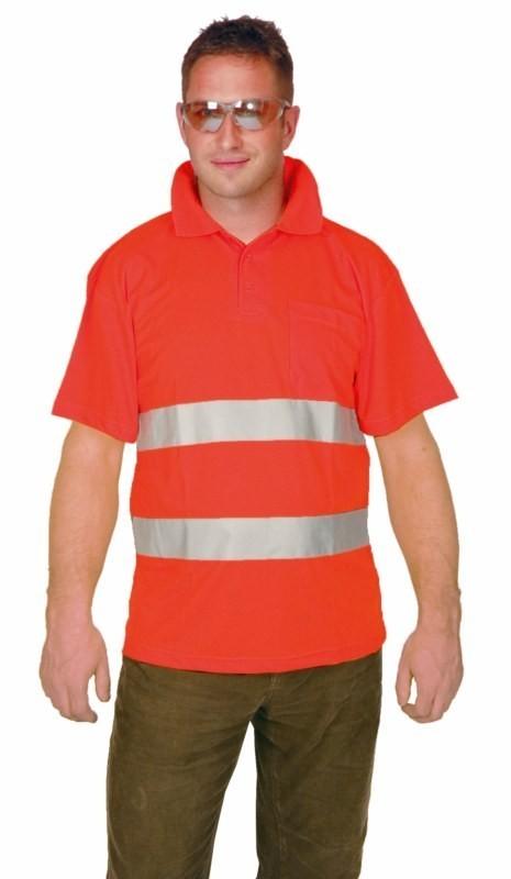 Reflexné tričko oranžové