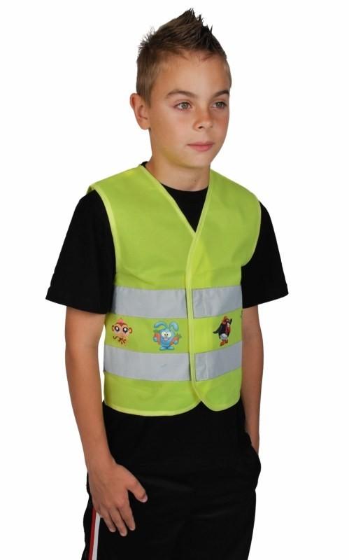 Reflexná výstražná vesta pre deti