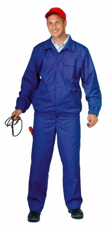 Antistatický oblek modrý