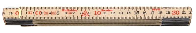 Meter skladací drevený 2m 59-2-10