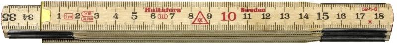Meter skladací drevený 1m 59-1-6