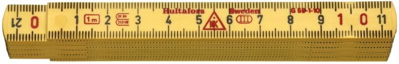 Meter skladací laminátový 1m G 59-1-10 GU