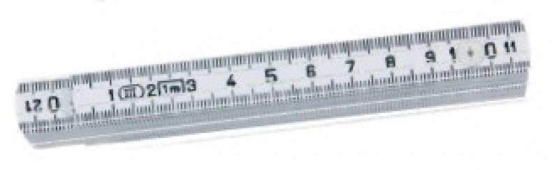 Meter skladací laminátový K2007-1-10W DU