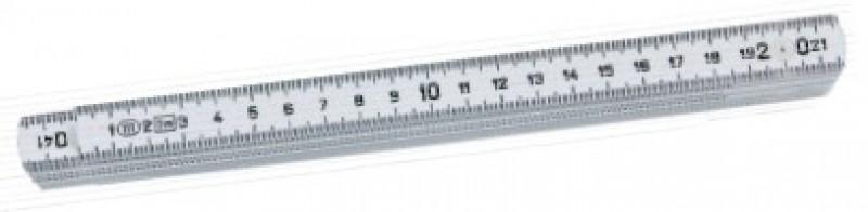 Meter skladací laminátový K2107-2-10W DU