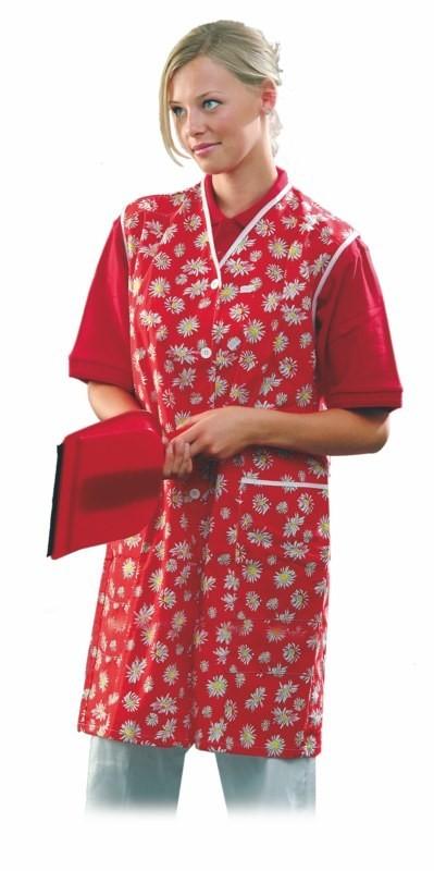 Dámsky plášť DITA bez rukávov pestrofarebný na objednávku