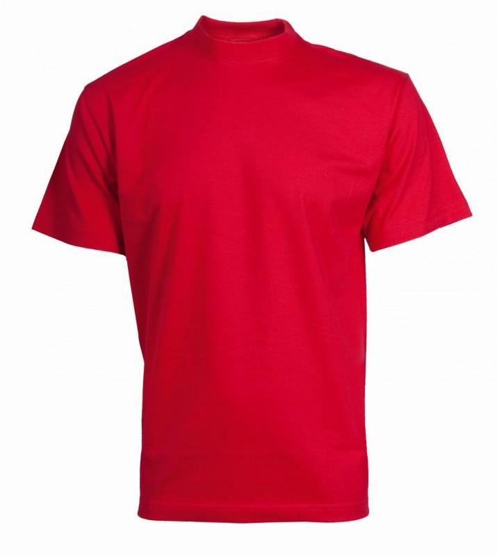Tričko daniel s krátkymi rukávmi, Červená