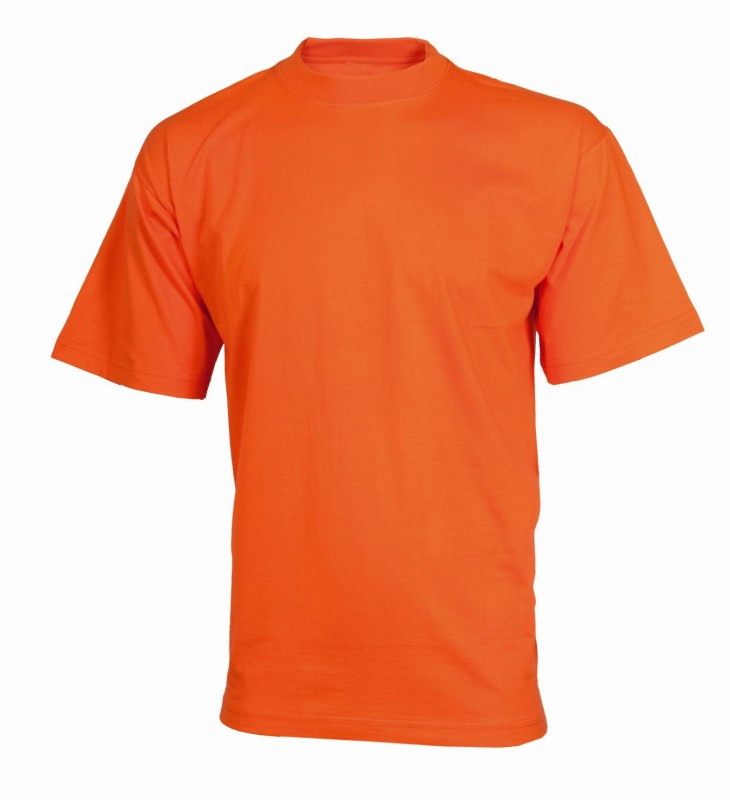 Tričko daniel s krátkymi rukávmi, Oranžová