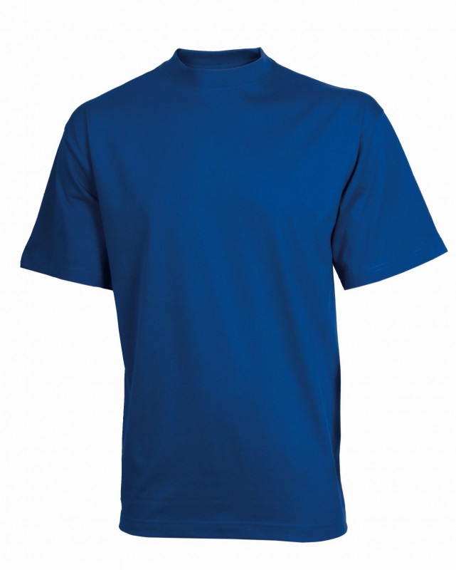 Tričko daniel s krátkymi rukávmi, Stredne-modrá