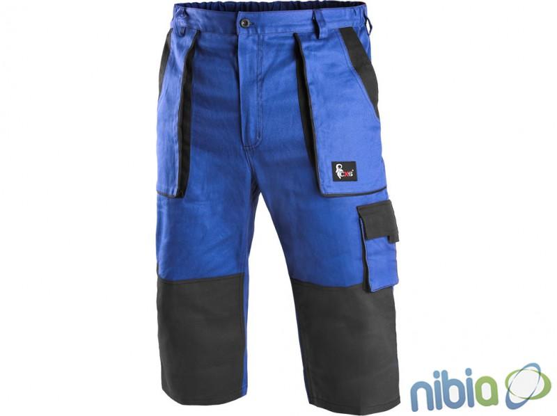 CXS LUXY PATRIK monterkové 3/4 nohavice čierno-modré