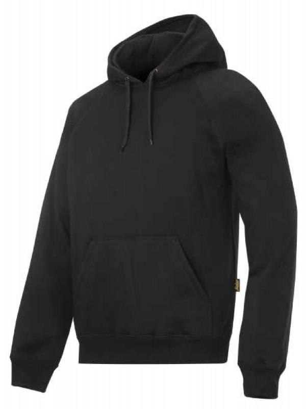 Mikina Classic s kapucňou 2800, čierna