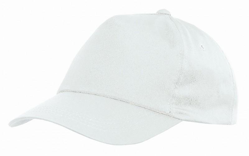 Baseballová čiapka so šiltom PHIL, Biela