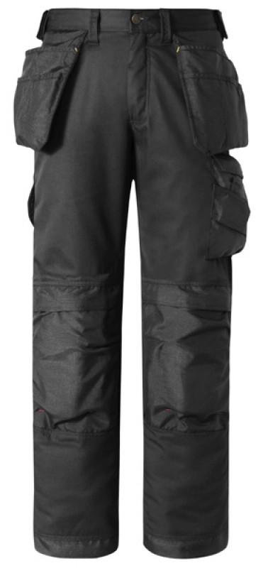 Nohavice CoolTwill™ remeselnícke s HP 3211, čierna - čierna