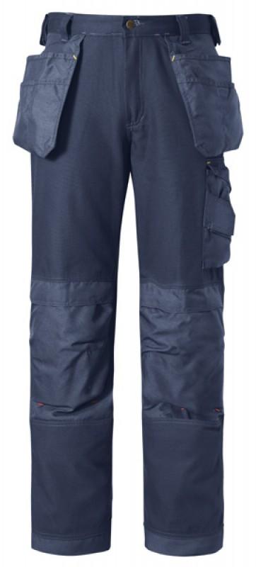 Nohavice Canvas+™ remeselnícke 3214, námornícká modrá - námornícká modrá
