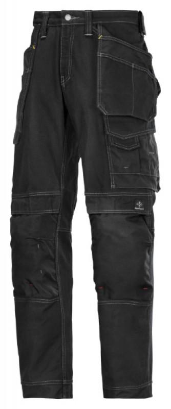 Nohavice Comfort Cotton remeselnícke s HP 3215, čierna - čierna